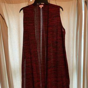 Lularoe Joy Vest - size medium